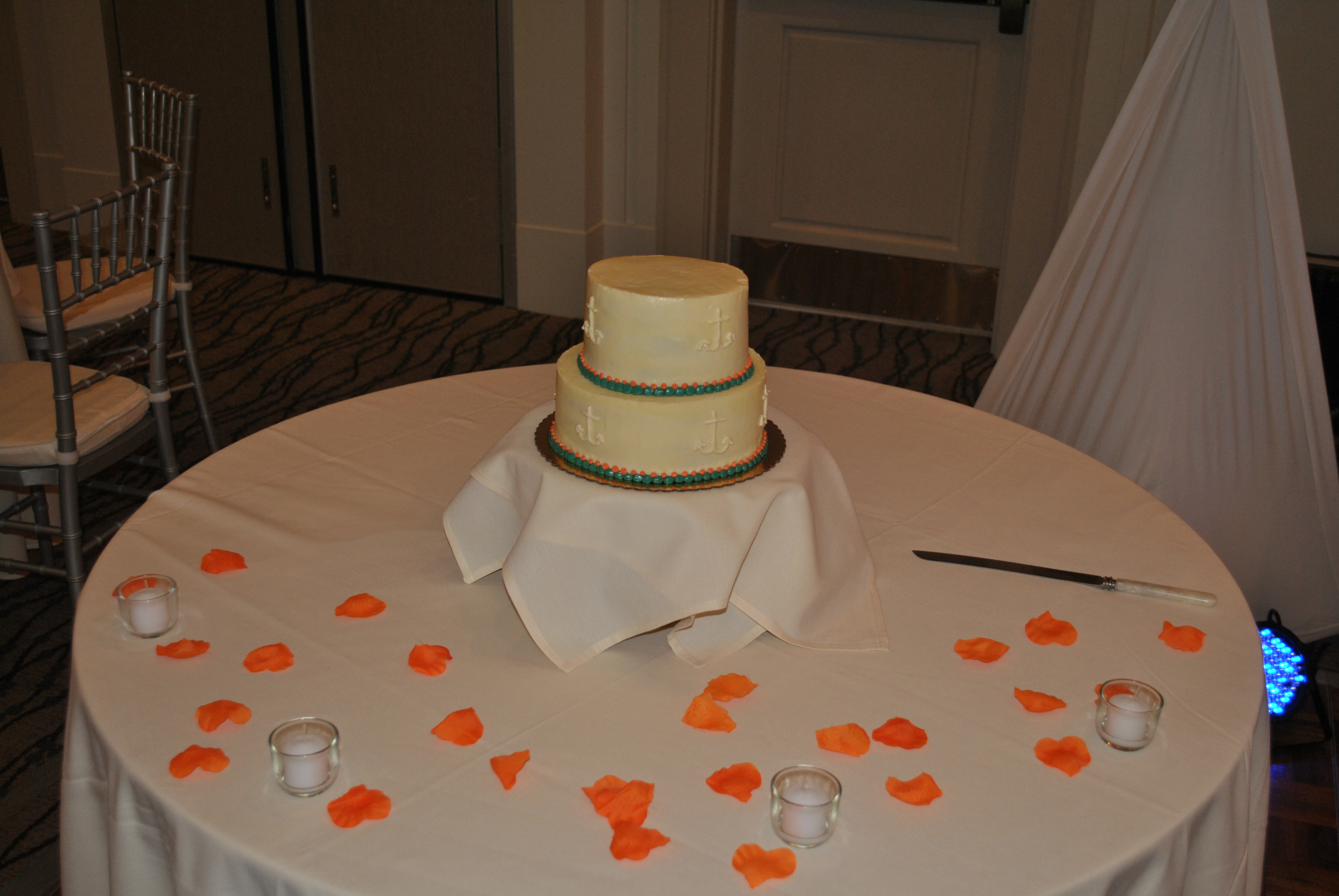Audio Events Wedding Cake At Portsmouth Harbor Conference Center