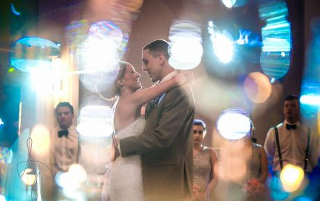 Spotlight first dance at Portsmouth Harbor Events Center - Audio Events