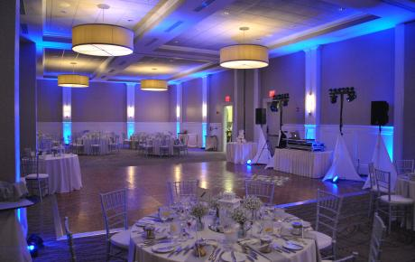 Beautiful Uplighting by Audio Events at Portsmouth Harbor Event Center