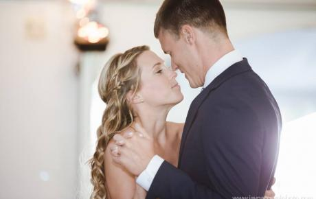 First Dance at Flag Hill Winery. Photo by Jayna Cowal Photography - Wedding DJ Audio Events