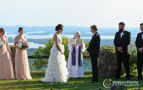 Wedding Ceremony at Castle in the Clouds - Ceremony music provided by Audio Events