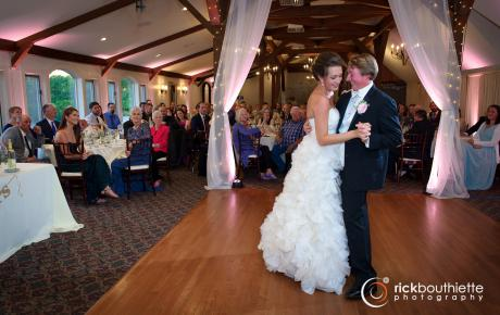 Allison and Jared share their first dance as husband and wife.